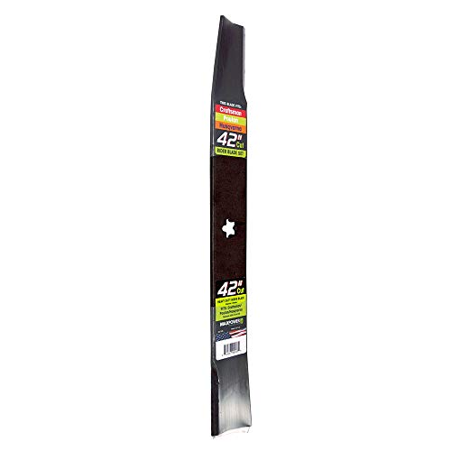 MaxPower 331729S Heavy Duty Blade for 42 Inch Cut Poulan/Husqvarna/Craftsman 134149, 532134149