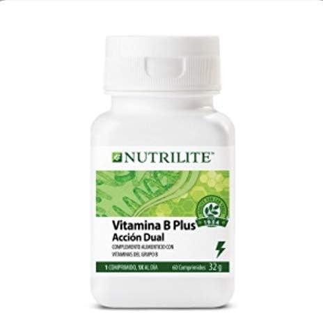 Vitamina B Plus orgánica de NUTRILITE - Contiene espirulina natural, cultivada y recolectada en una granja con certificación NUTRICERT