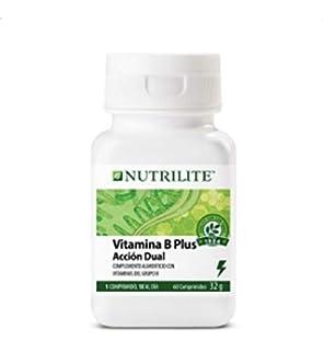 Vitamina B Plus orgánica de NUTRILITE - Contiene espirulina natural, cultivada y recolectada en una