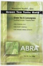 - Green Tea Tonic Bath Abra Therapeutics 3 oz Packet