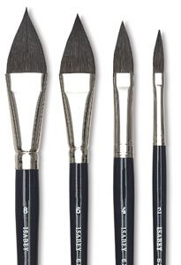 Isabey Brush Series 6235 Squirrel Oval Wash 8