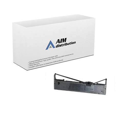 AIM Compatible Replacement for FX-980 Black Printer Ribbons (6/PK) (S015091-US) - Generic ()