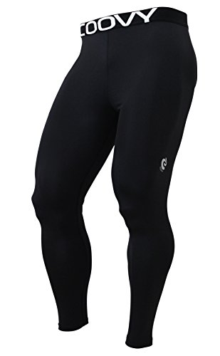 Mens COOVY Winter Thermal Compression Under Base Layer Cold Armour Gear