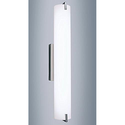 Light Blue Led Vanity Light Fixture 24 Inch Vertical Or