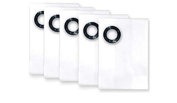 5x bolsas para aspirador tejido WAP SQ 450-11, SQ 450-21, SQ 450-31, SQ 450-1M/H, SQ 450-2M, SQ 450-3M/H, SQ 490-31, Turbo XL, SQ 4: Amazon.es: Bricolaje y ...