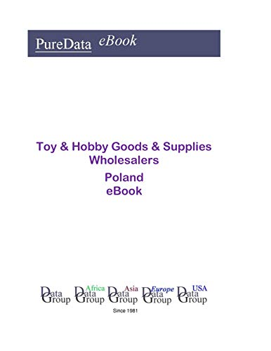 Toy & Hobby Goods & Supplies Wholesalers in Poland: Product Revenues -