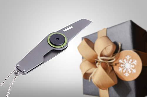 Abridor de paquetes - Práctico llavero - Cuchillo Paquete