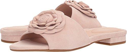 Taryn Rose Women's Violet Silky Suede Slide Sandal, Blush, 5.5 M M ()