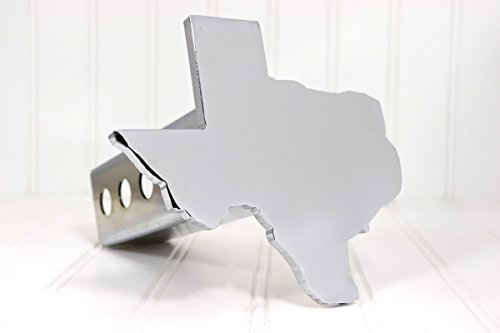(Custom Hitch Covers 12509-Chrome Texas Hitch Cover,)