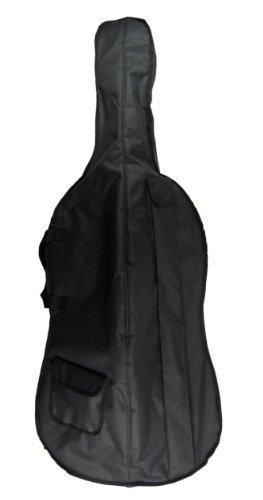 Merano 1/2 Size Student Cello with Hard Case, Bag and Bow+2 Sets of Strings+Cello Stand+Black Music Stand+Metro Tuner+Rubber Mute+Rosin by Merano (Image #1)