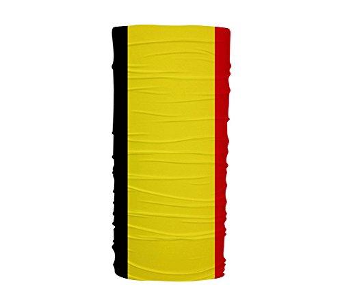 ScudoPro Bandera de Bélgica Multifuncional con protección UV Diadema