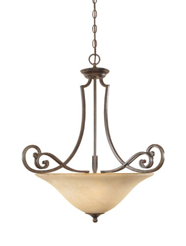 (Designers Fountain 81831-FSN Mendocino Inverted Pendant )