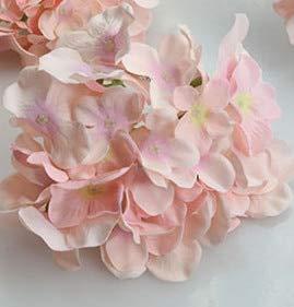 MEITAO Flor Artificial Boda Hortensia Artificial Seda Flor Mesa ...