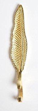 8 Oak Lane EN019FTR Feather Metal Bottle Opener 5.25 Gold