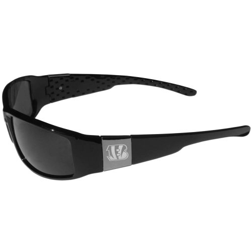 Siskiyou Cincinnati Bengals Chrome Wrap Sunglasses