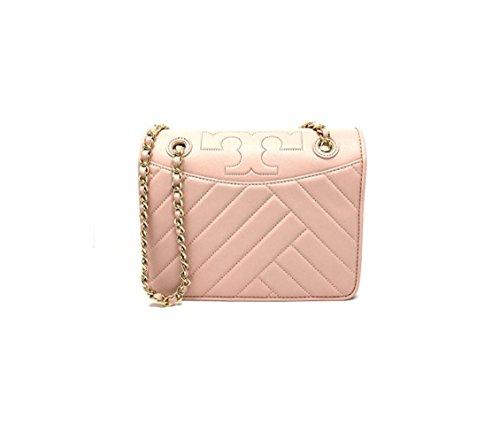 Tory Burch Alexa Convertible Shoulder Bag in Pink Quartz Style 506430418