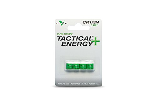 Price comparison product image Viridian CR1/3N 3V Lithium Battery (4-Pack)
