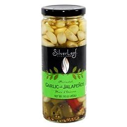 SilverLeaf Mediterranean Garlic with Jalapeños