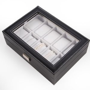 SurePromise One Stop Solution for Sourcing CLE DE TOUS - Caja para guardar relojes de pulsera