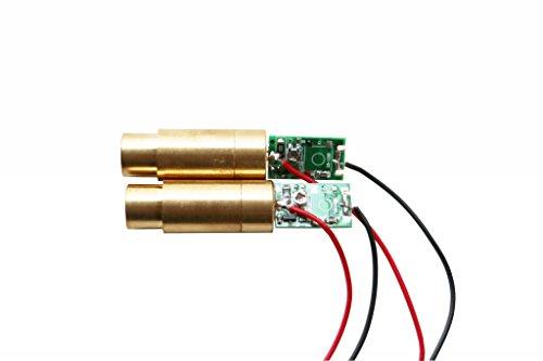 lights88 Green Laser Modules Laser Diodes 532nm 50 mw Green Dot Laser 2 - Green Module Laser