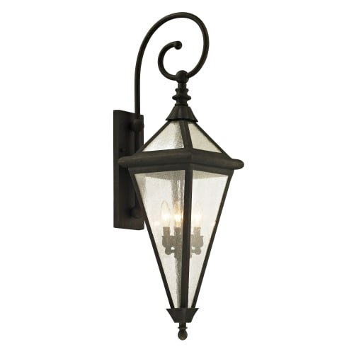 Troy Landscape Lighting - Troy Lighting B6473 Geneva Outdoor Wall Sconce, Large