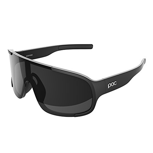 POC - Aspire, Lightweight Sunglasses, Uranium Black, Black - 1/2 Sunglasses 8