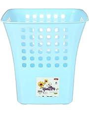 Winner Plast Quattro Plastic Trash Bin, 24 x 25 cm - Turquoise