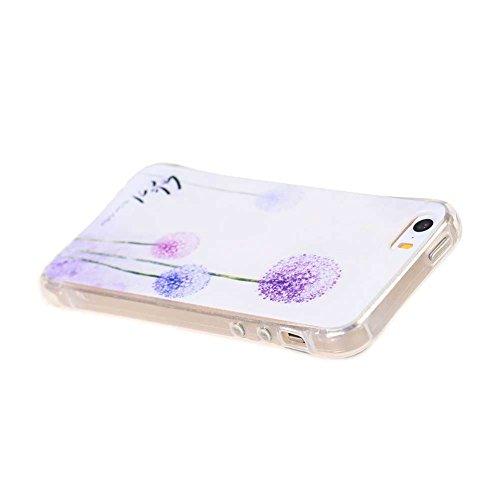 Coloré Motif Souple TPU Etui Housse de Protection Coque en Silicone pour iPhone SE Étui Case Cover (07#)