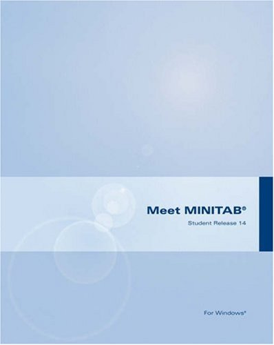 MINITAB Student Version 14 for Windows