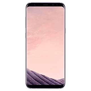 "Samsung Galaxy S8+ Plus (64GB, 4GB RAM) 6.2"" AMOLED Display, Snapdragon 835, Single SIM GSM Unlocked Global 4G LTE (T-Mobile, AT&T, Metro, Straight Talk) International Model SM-G955W (Orchid Gray)"