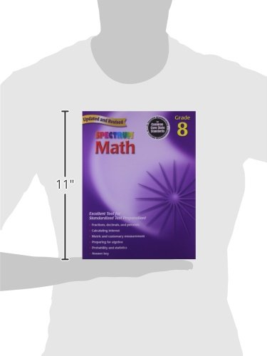 Counting Number worksheets geometry worksheets year 9 : Amazon.com: Spectrum Math: Grade 8 Workbook (0087577913988 ...