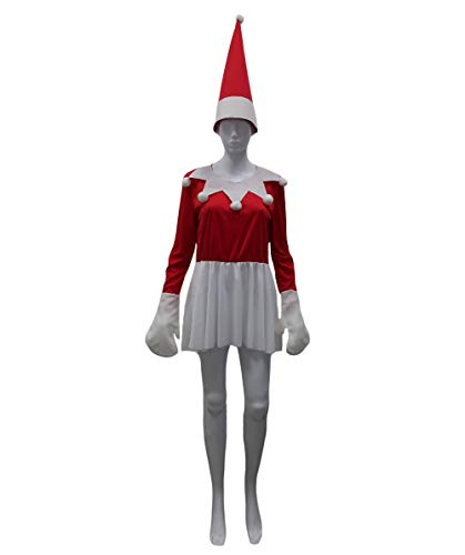 Adult Women's Elf on The Shelf Costume HC-478
