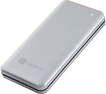 Storeva nanodrive Type C – Cubierta USB-C para Disco SSD mSATA