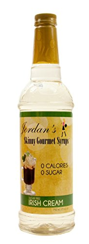 Jordan's Skinny Gourmet Syrups, Irish Cream, 25.4 Ounce (Pack of 6)