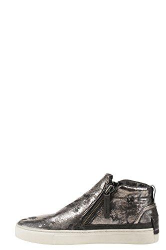 Crime London - Zapatillas de Piel para mujer gris gris