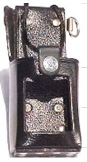 Dtmf Leather - USA Made BEE Leather Holster with Clip for Motorola GP300 DTMF Portable Radio with High Capacity Battery