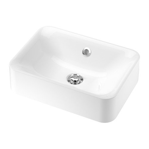 Ikea Countertop sink, white 17 3/4x12 5/8 '' by IKEA