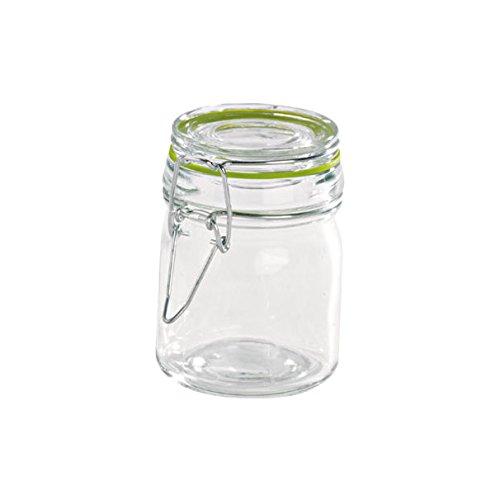 PacknWood Mini Glass Jars with Colored Seal, 5 oz Capacity,