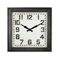 Aspire Wall Clock Westford Square, Gray