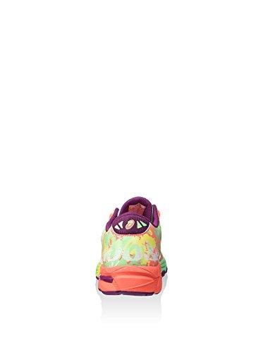 Asics Gel-noosa Tri 11 Gs - Zapatillas de deporte Niños Coral / Verde Agua / Amarillo