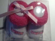 De color rosa para diseño de automóviles y 1st par de calcetines para ciclismo tacto suave de patrones para patucos de tipo libro con función de texto en inglés little angel Gorgeous