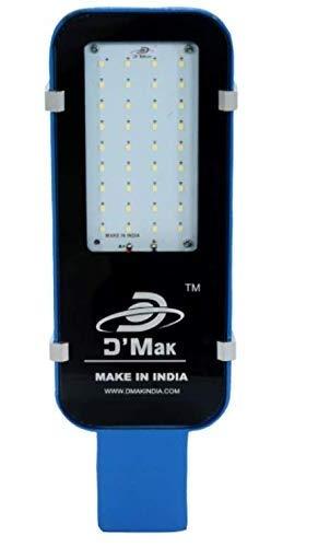 D'Mak 30 Watt Waterproof Smart Led Street Light Blue Body for Outdoor Purposes (White, Pack of 1)