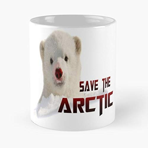 Christmas Red Polar Awareness - Coffee Mugs Unique Ceramic Novelty Cup Best Gift ()