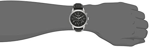 Invicta Men's I by Invicta 44mm Stainless Steel and Leather Chronograph Quartz Watch, Black (Model: IBI90242-001) WeeklyReviewer