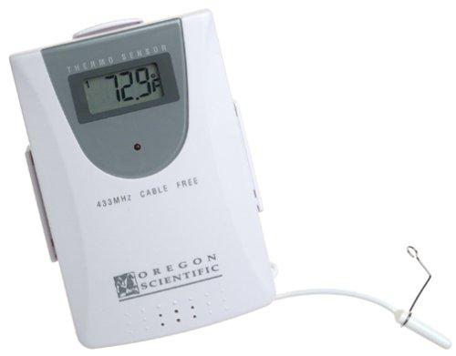 amazon com oregon scientific cable free remote sensor with rh home amazon com Oregon Scientific Smart Globe Oregon Scientific Projection Clock