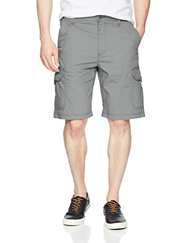 LEE Men's Extreme Motion Crossroad Cargo Short, Storm Gray, 29 from LEE