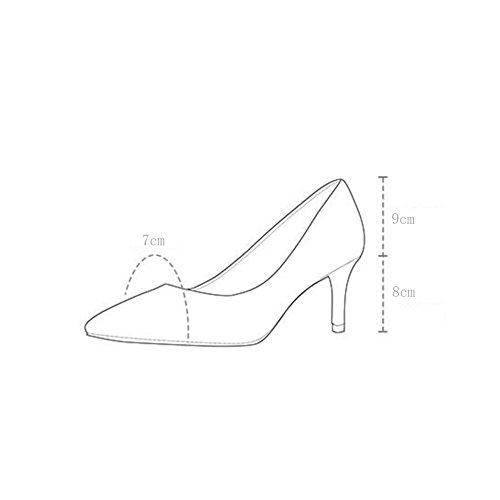 Mujer Zapatos Deducci De WYYY Tacones qUY7xf