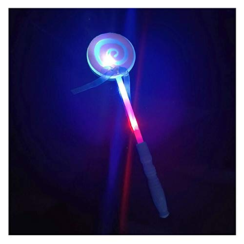 Child Plastic Lollipop LED Llluminate Fairy Magic Wand