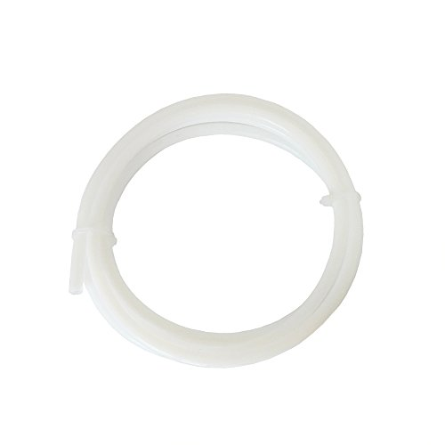 Od Tube (Iverntech 2M PTFE Teflon Tube OD 6mm x ID 4mm for RepRap 3D Printer Bowden Hotend 1.75mm or 3mm Filaments)