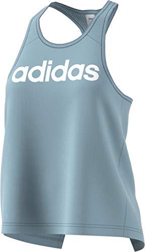 - adidas Women's Design 2 Move Logo Tank Top, Ash Grey, Large
